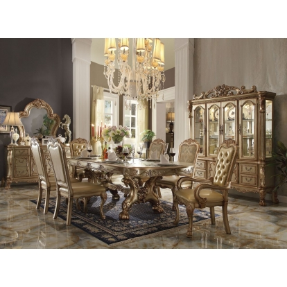 ACME Dresden Dining Table ACME Furniture SKU 63150