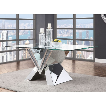 ACME Noralie Dining Table ACME Furniture SKU 71280