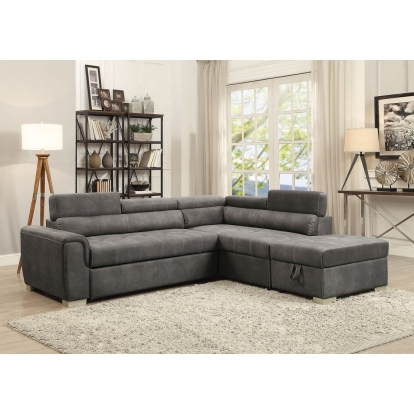 50275 Sofa Sectional with storage