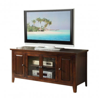 "ACME Chocolate For Flat Screens Tvs Up To 60"" Christella Tv Stand"