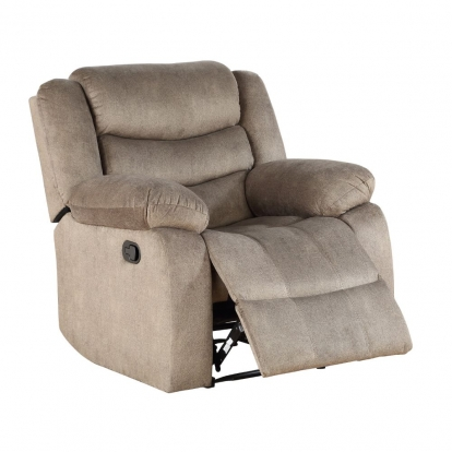 ACME Light Brown Fabric Angelina Recliner
