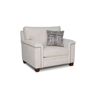 ACME Fabric Kalista Chair with Pillows