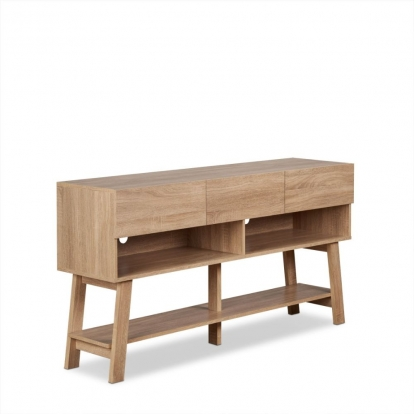 ACME Rustic Natural Ariza Tv Stand