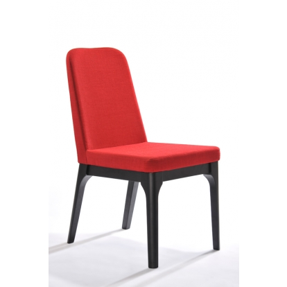 Modrest Comet Modern Red Fabric Dining Chair (Set Of 2) Vig Furniture Sku Vgmami-274F-Red 17613Z