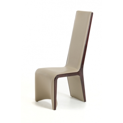 Modrest Pacer Modern Taupe And Ebony Dining Chair (Set Of 2) Vig Furniture Sku Vgcsch-13107 17612Z